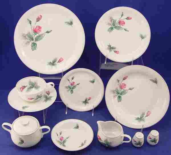 61 pc ROSENTHAL CHINA SERVICE FOR 8 Pink Rose