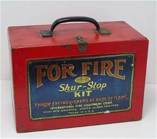 6 SHUR STOP FIRE GRENADES IN ORIGINAL BOX