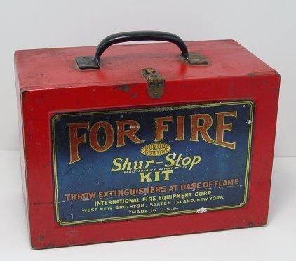 1006: 6 SHUR STOP FIRE GRENADES IN ORIGINAL BOX