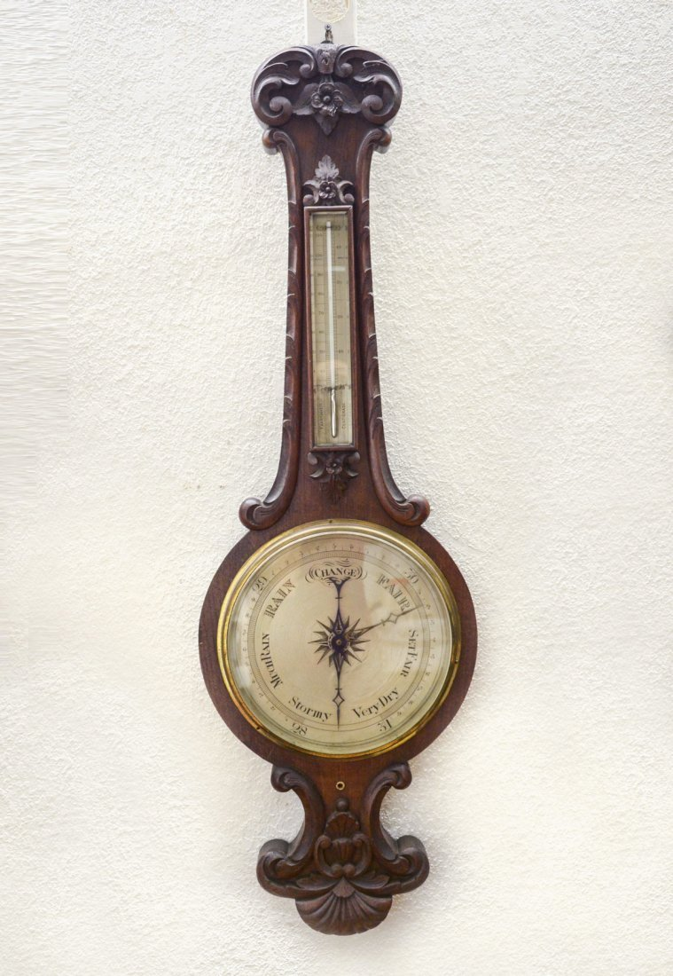 19TH CENTURY ENGLISH BAROMETER