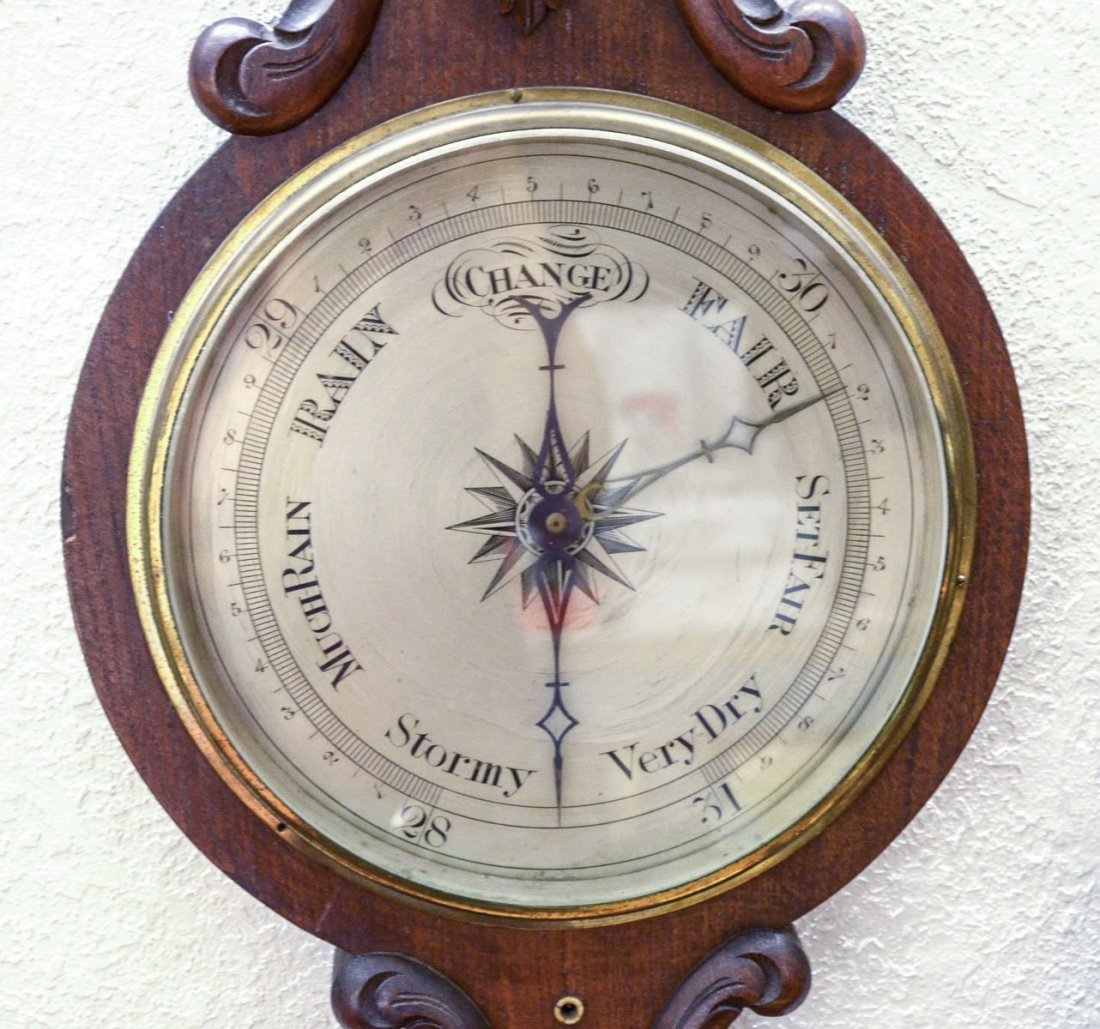 19TH CENTURY ENGLISH BAROMETER - 2