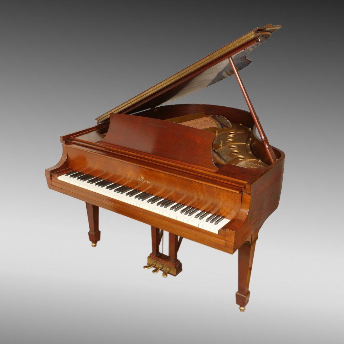 """STEINWAY """"M"""" SERIES BABY GRAND PIANO"""