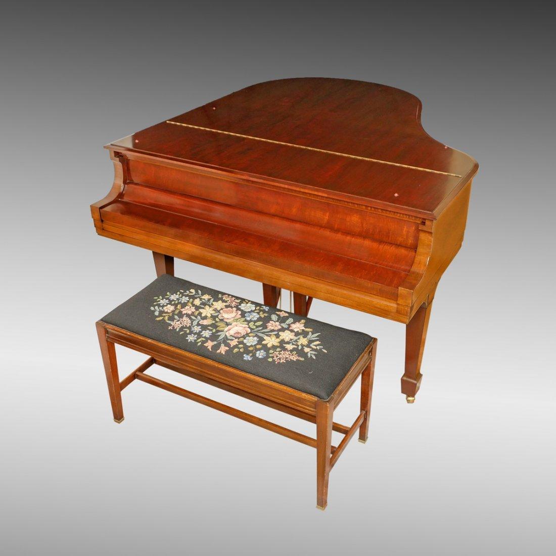 """STEINWAY """"M"""" SERIES BABY GRAND PIANO - 2"""