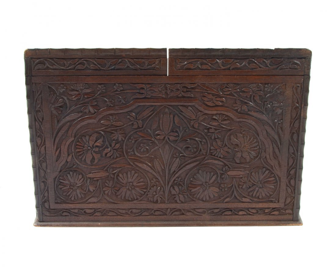 CARVED ASIAN LETTER BOX - 3