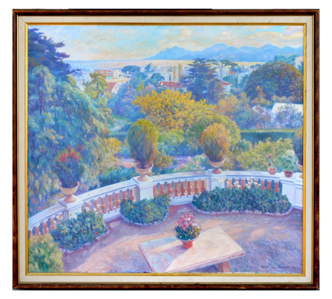 WILLIAM NELSON LANDSCAPE PAINTING - 2
