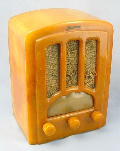 1003: EMERSON BUTTERSCOTCH CATALIN RADIO AU 190