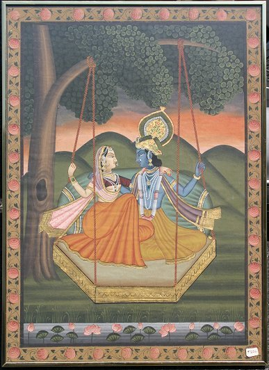 1012: KRINAGARTH INDIAN PAINTING