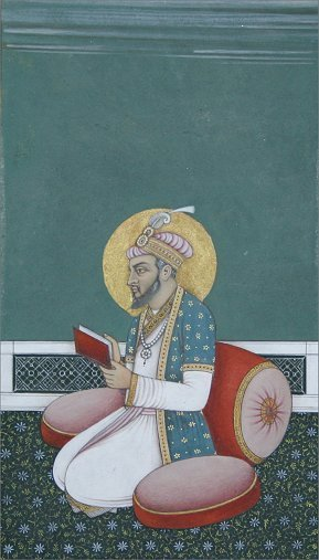 1014: 19TH C INDIAN MINIATURE PAINTING OF RAMA