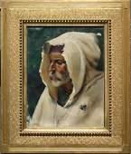 1276: HELEN ALLEN 19TH C PORTRAIT PAINTING GENTLEMAN