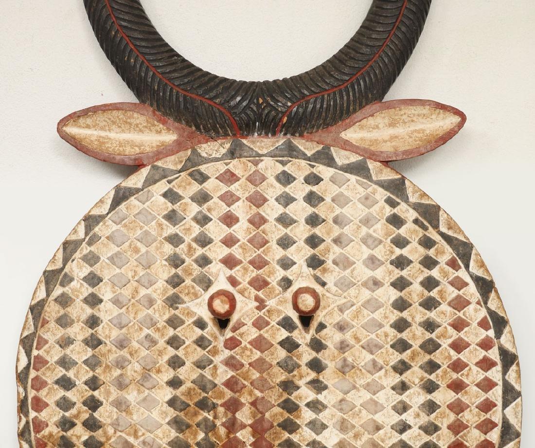 LARGE AFRICAN HORNED MASK - 2