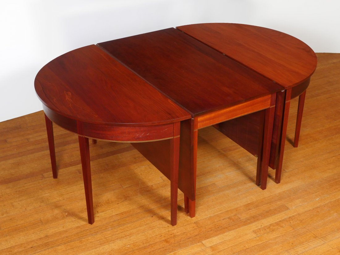 D-END DINING TABLE - 3
