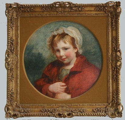 20: EXCEPTIONAL F.A. CARPENTIER 19C PORTRAIT PAINTING