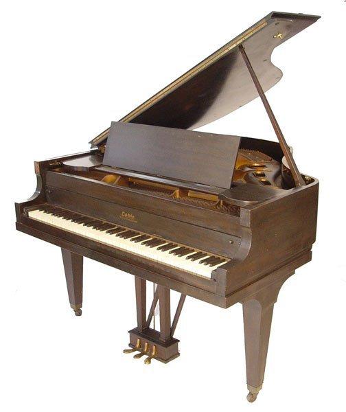 1126: 1928 CABLE CROWNSTAY MAHOGANY BABY GRAND PIANO