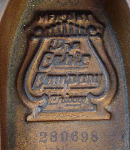 1126: 1928 CABLE CROWNSTAY MAHOGANY BABY GRAND PIANO - 2