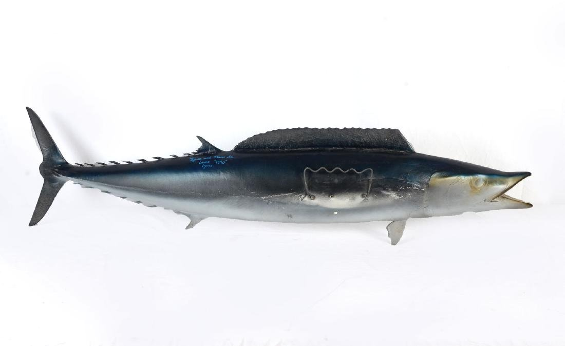 WAHOO FISH WALL SCULPTURE - 4