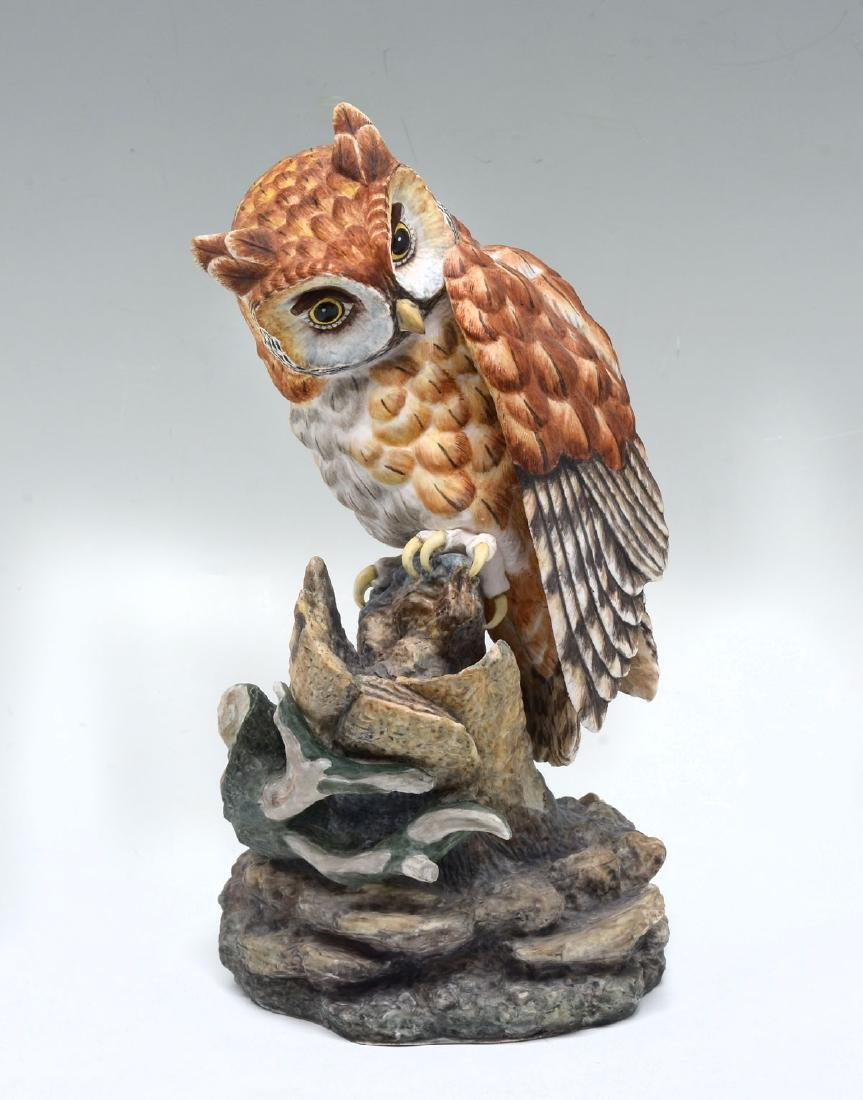 2 LIMITED EDITION BOEHM OWLS - 5