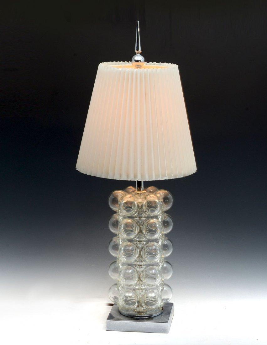 MODERNE GLASS BUBBLE LAMP