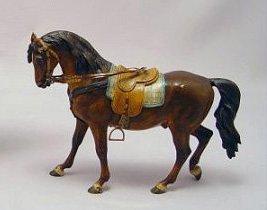 10: AUSTRIAN/VIENNA COLD PAINTED BRONZE HORSE