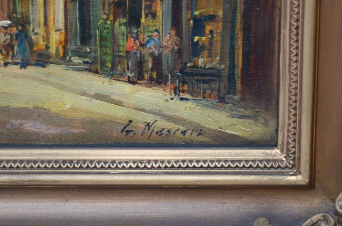 GUSTAVE MASCART OIL PAINTING - 3