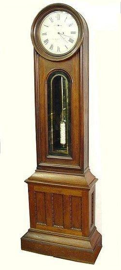 149: 19TH CENTURY E. HOWARD TALL CASE CLOCK