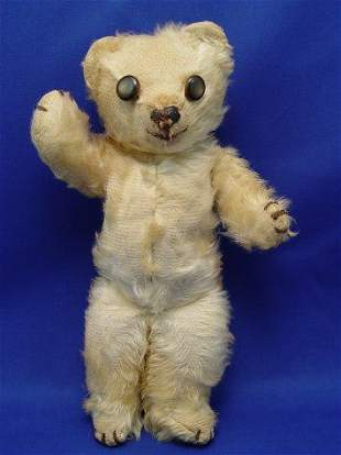 AN EARLY AND MUCH LOVED TEDDY BEAR