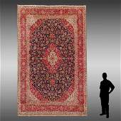 PERSIAN HAND KNOTTED WOOL RUG, 9