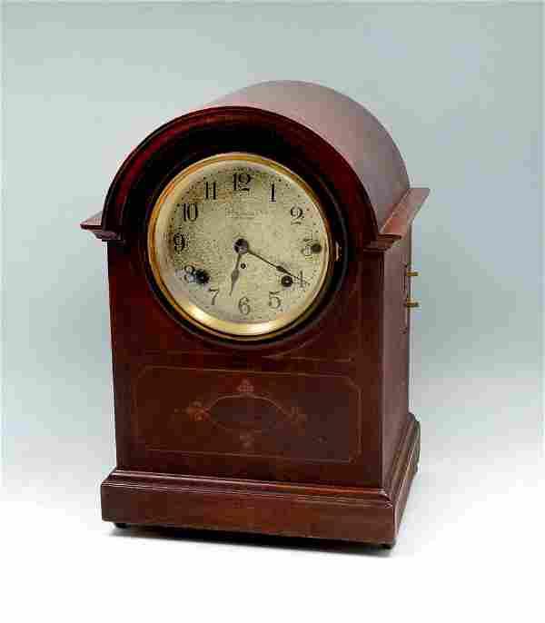 SETH THOMAS MAHOGANY CLOCK WITH SONORRA CHIME