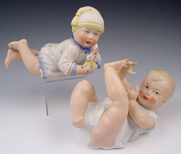 2005: 2 GERMAN AND GERMAN HEUBACH PIANO BABIES BABY