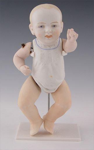 2015: GERMAN ALL BISQUE UNMARKED KESTNER BABY DOLL  6''