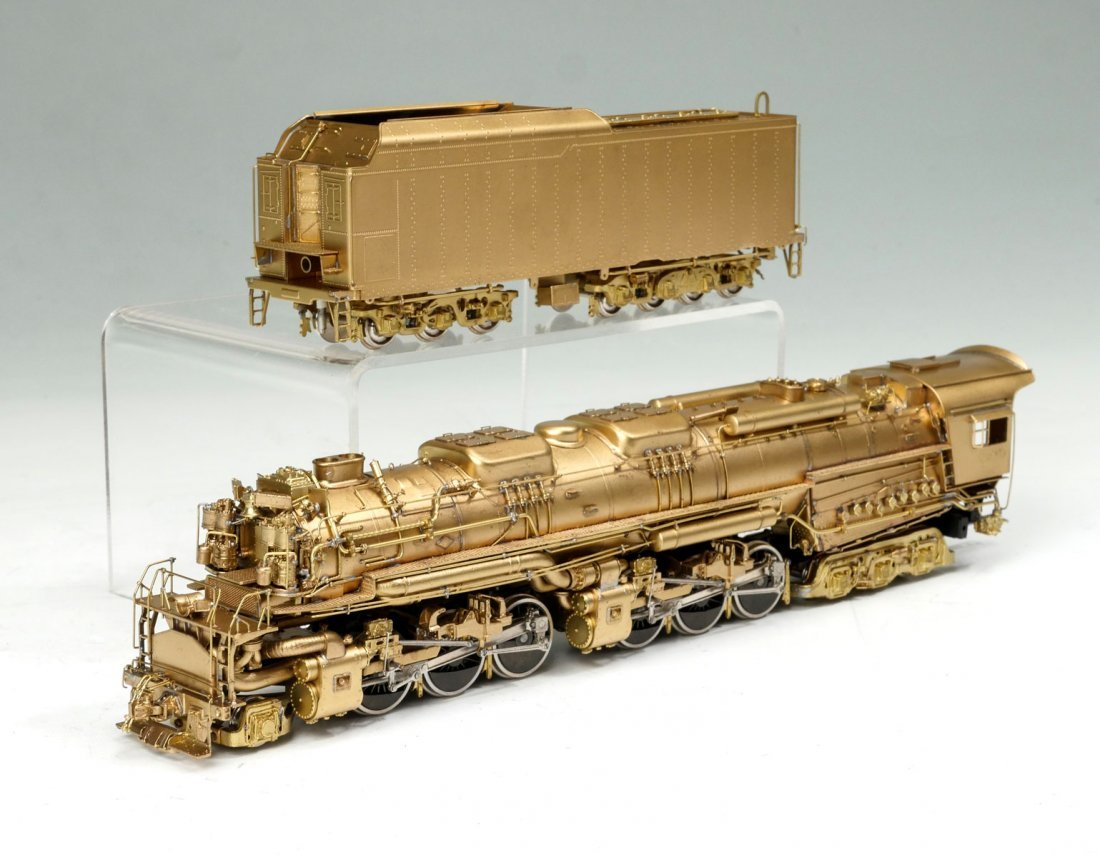 PFM BRASS CHESAPEAKE & OHIO ENGINE & TENDER