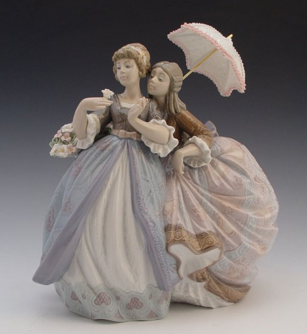 617: retired LLADRO SOUTHERN CHARM 5700