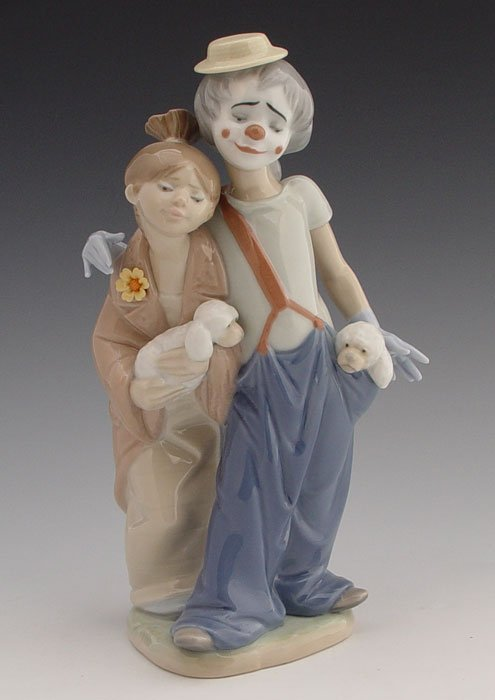 620: LLADRO 2000 SOCIETY ''PALS FOREVER'' CLOWN 7686