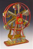 401 J CHEIN  CO HERCULES FERRIS WHEEL TIN LITHO TOY