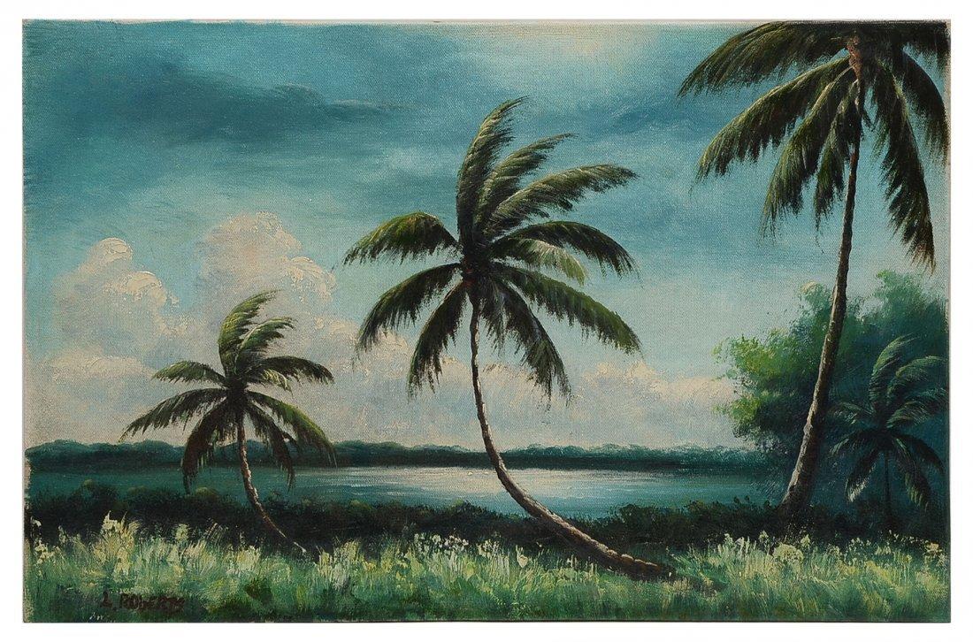 LIVINGSTON ROBERTS FLORIDA HIGHWAYMEN RIVER PALM
