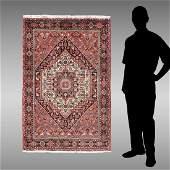 PERSIAN MODERN BIJAR HAND KNOTTED WOOL RUG