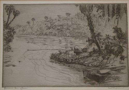1154: 9 PIECE KENT HAGERMAN FLORIDA ARTIST ETCHING LOT - 2