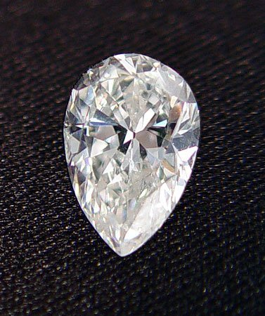 21: 2.06 Ct PEAR DIAMOND H color SI2