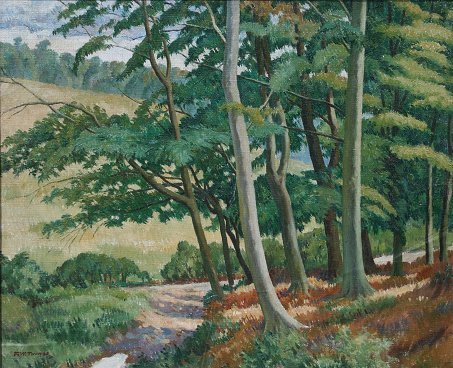 23: F. WYNNE THOMAS LANDSCAPE PAINTING