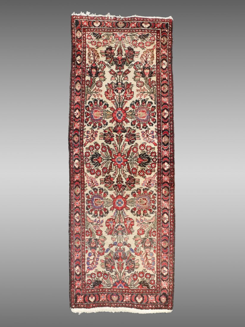 PERSIAN LILLHAN HK WOOL RUNNER, 4