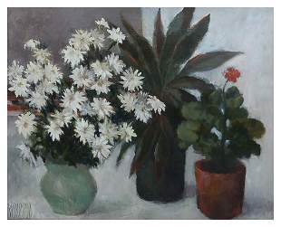 STILL LIFE PAINTING BY ARTIST MOSCOSO