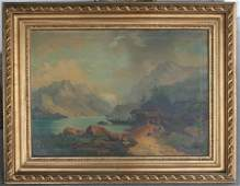 178: LATE 19TH C? LANDSCAPE PAINTING