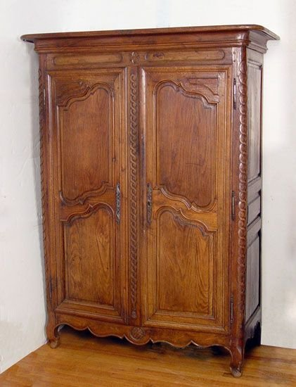 1013: 19th C FRENCH PROVINCIAL CABINET
