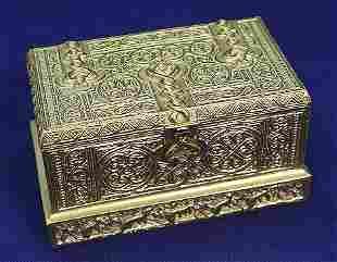TIFFANY STUDIOS VENETIAN INKSTAND 1641 BRONZE