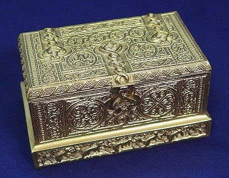 1: TIFFANY STUDIOS VENETIAN INKSTAND 1641 BRONZE