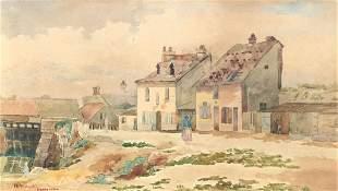 J AMBROSE PRITCHARD PARIS PAINTING 1884