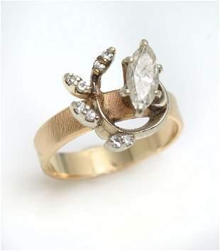 14K 50 CTW DIAMOND RING
