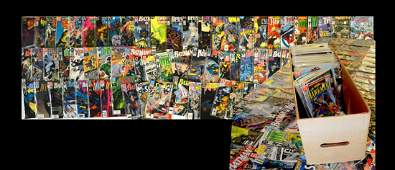 215+ PC. COLLECTION OF EARLY DC COMICS