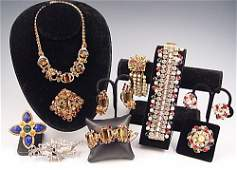 CINI HOBE DeMARIO JULIANA deLILLO JEWELRY LOT