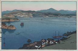 HIROSHI YOSHIDA JAPANESE WOODBLOCK PRINT