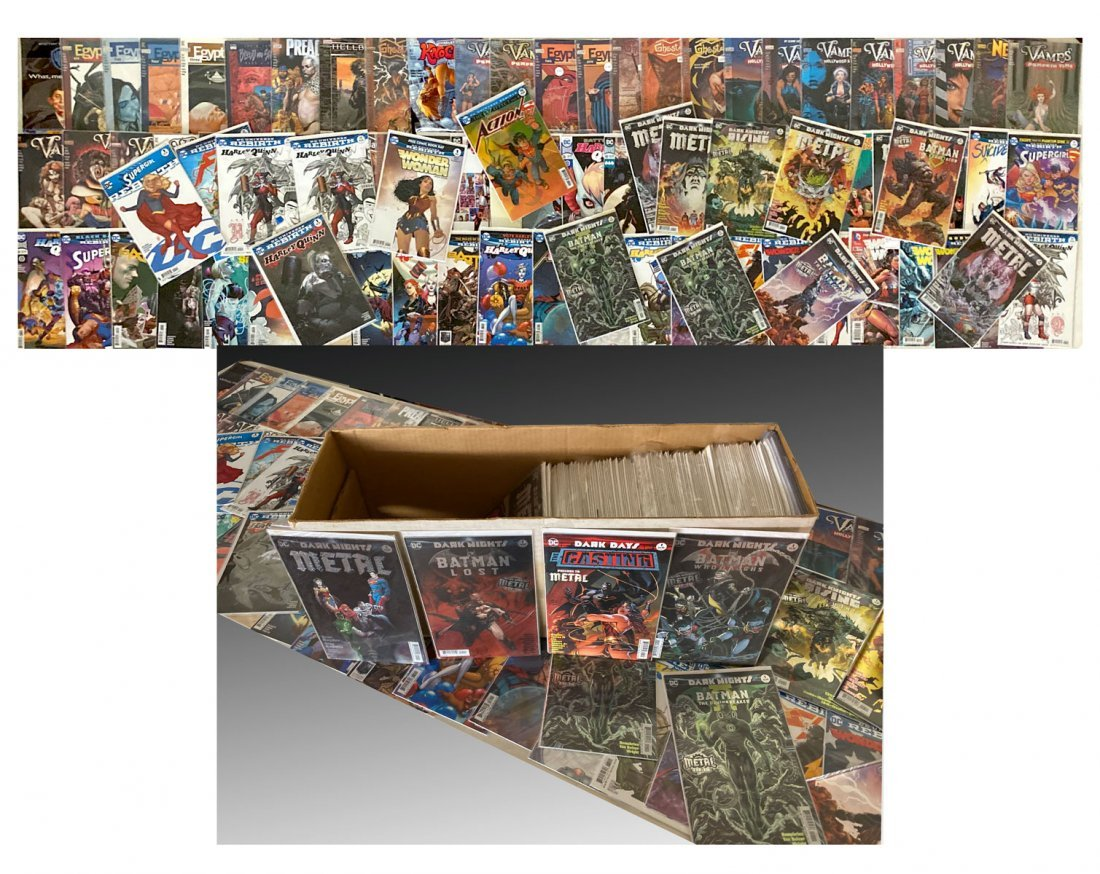 250+ DC COMIC BOOK COLLECTION
